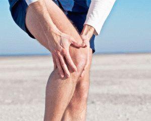Боль в суставе ноги