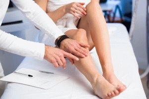 Обследование ног у специалиста