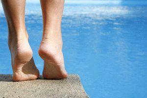 Ноги в летнее время