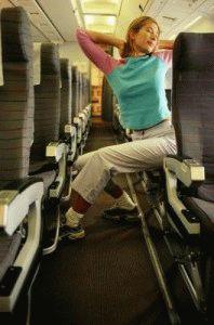Разминка в самолёте