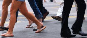 Ходьба влияет на ноги