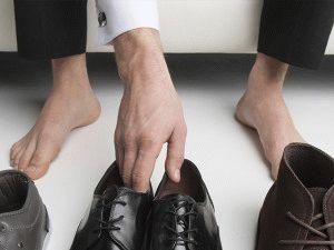 Выбор туфлей