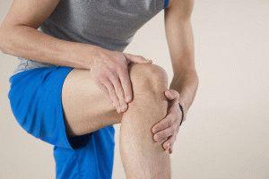 Выраженная боль в колене