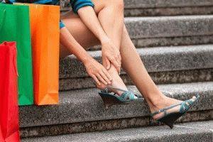 Неудобные туфли