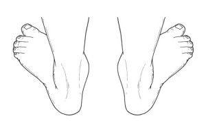 Изменение положения ног