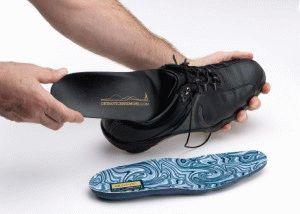 Обувь со специальной стелькой