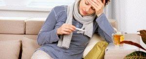 Простуда больного