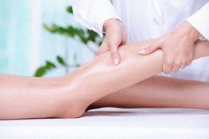 Массаж при бурсите колена