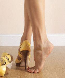 Сложности в хождении на каблуках