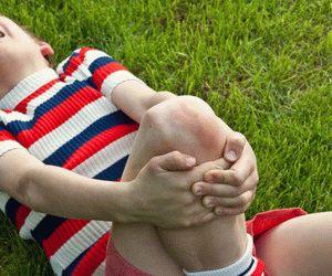 Поражение ног артритом