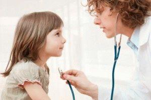 Обращение с ребёнком к врачу