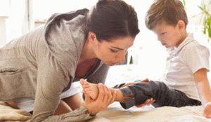 Боль в суставах у ребёнка