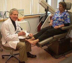 Лечение шишки на ноге