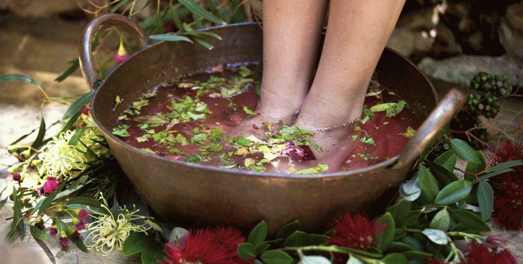 Ванночка для ног с марганцовкой при грибке