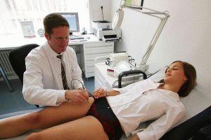 Обследование здоровья ног