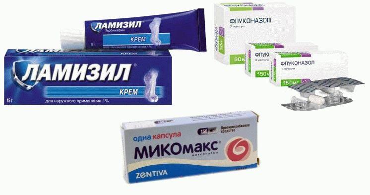 Лучшие таблетки при лечении грибка ногтей
