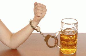 Алкоголизм как причина онемения