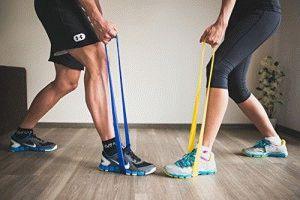 ЛФК для ног