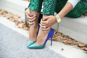 Боль от ходьбы на каблуках