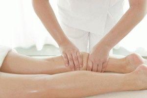 Снятие боли массажем