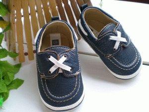 Обувь с грубыми швами
