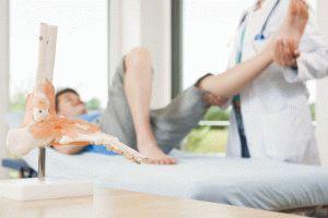 Диагностика ног у врача