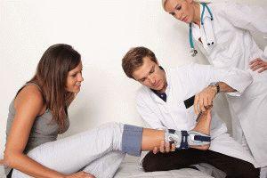 Приём у травматолога