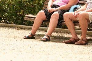 Отёк ноги у пожилого