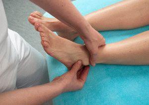 Лечебный массаж ног