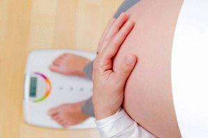 Беременность и набор веса