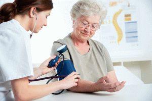 Скачки давления в старческом возрасте