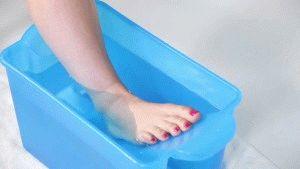 Прогревание в тёплой воде