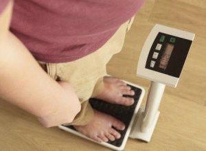 Лишний вес человека
