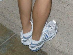 Подъём на носочки