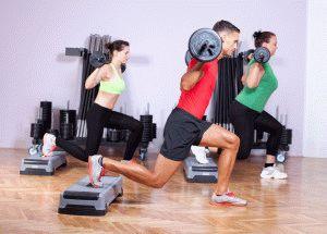 Проработка мышц ног