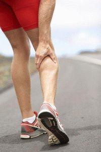 Сведение мышцы у мужчины