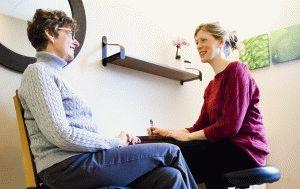 Консультация с физиотерапевтом