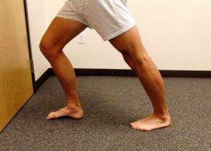 Растяжка ног