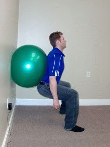Тренировка коленей