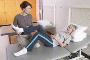 Комплекс упражнений после эндопротезирования тазобедренного сустава