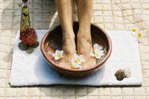 Ванночка для ног с травами