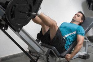 Комплекс упражнений на ноги в тренажерном зале