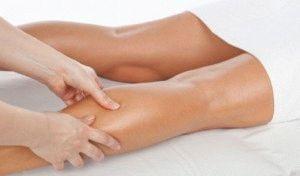Массаж мышц голеней