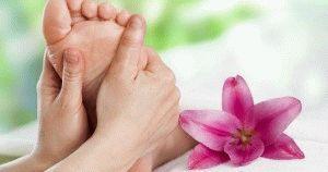 Массаж пальцев ног