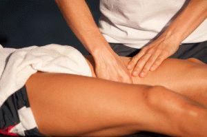 Бедренный массаж