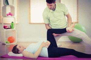 Массаж ног для беременной