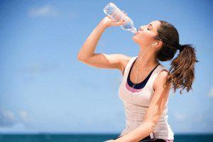 Пейте большее количество воды