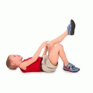 Сводит конечности у ребёнка