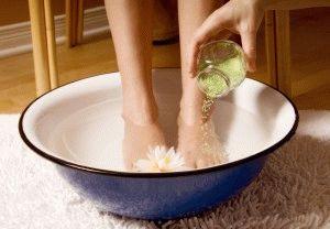 Ванночка для ног с морской солью
