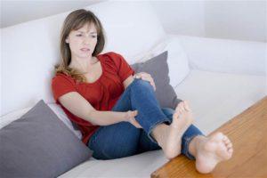 Спонтанная судорога у больного